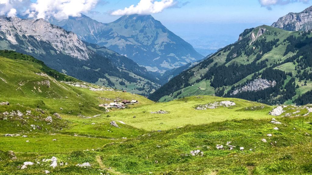 Day 5: Gspaltenhornhütte to Griesalp
